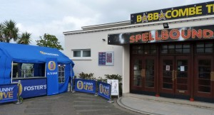 """Al's Bar"" outside Babbacombe Theatre"