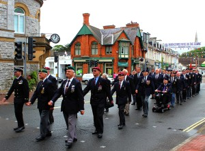 BF2013 Marching on Armed Forces Day (Gemma Cooper)