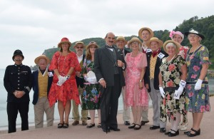 Babbacombe Cliff Railway Cast with guest