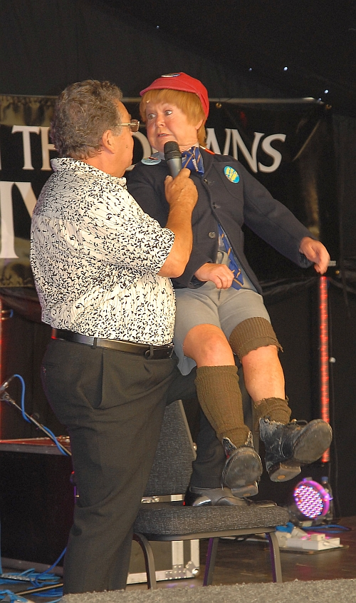 Krankies at Hanbury's Music Festival