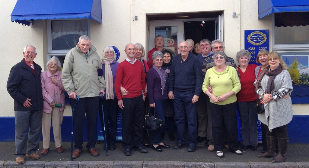 Torbay Dementia Action Alliance lunch at Hanbury's